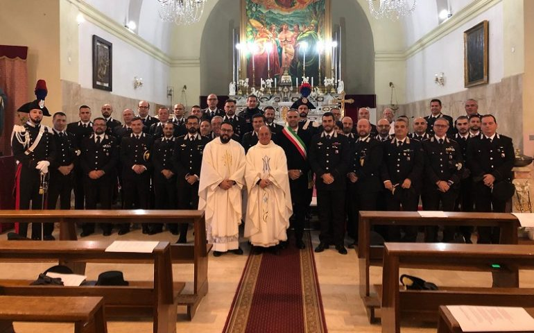 "Questa mattina a Jerzu la Cerimonia dell'Arma dei Carabinieri per la ""Virgo Fidelis"""