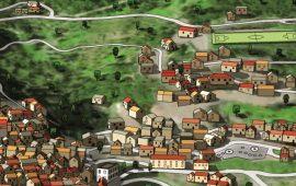 Jerzu d'autore. Il maestro dell'illustrazione Liborio Daniele Festa realizza una mappa sul paese ogliastrino