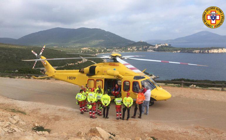 Addestramento periodico per personale Areus e per CNSAS Sardegna: simulazioni di intervento in ambiente impervio