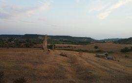 Menhir presenti nella zona di Perda Longa a Tortolì.