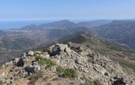 Punta Monte Tricoli e visuale panoramica.