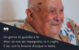"""Figli dei record. """"62 anni insieme, sempre d'accordo su tutte le cose"""". Le belle parole di Antonino Melis sulla moglie"""