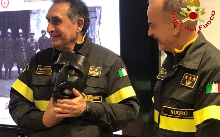 Nuoro, Vigili del Fuoco: il Direttore Regionale Antonio Angelo Porcu in visita