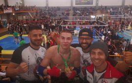 A Verona il titolo WBC nel campionato nazionale di Muay Thai Kombat League è di Alessandro Depau di Cardedu