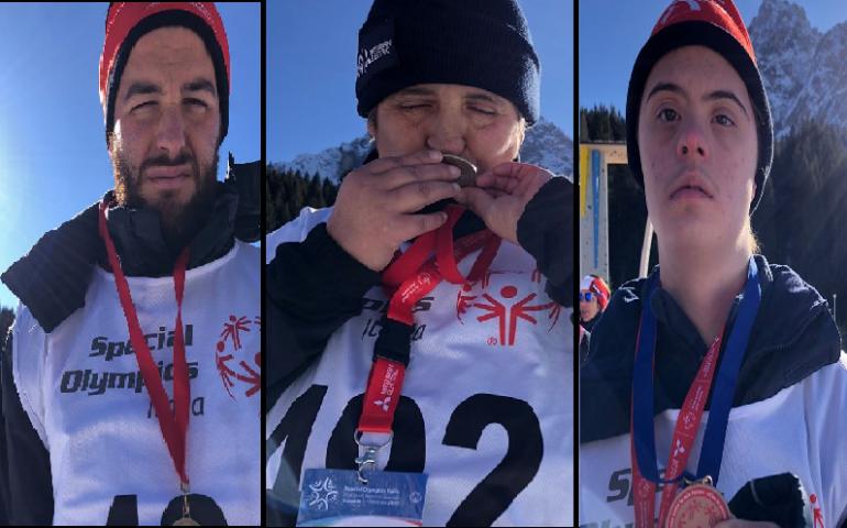 I ragazzi di Ogliastra Informa tornano vittoriosi dalle Dolomiti: un argento e due bronzi sulla neve