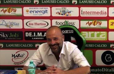 Presentazione del nuovo allenatore del Lanusei Alfonso Greco.