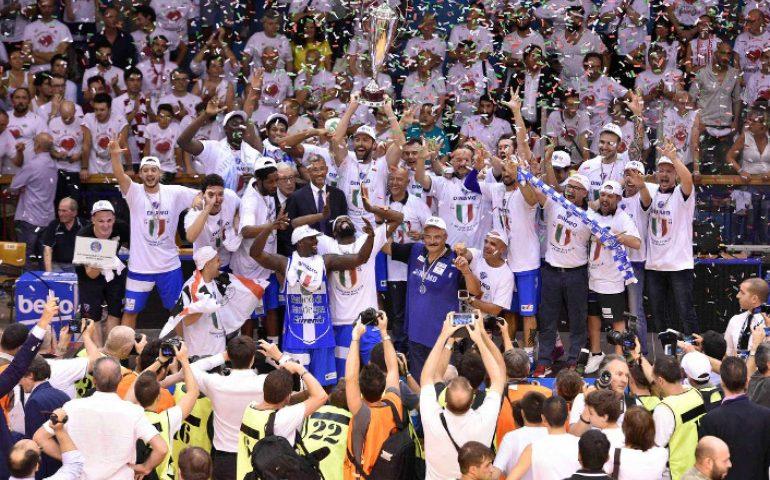 Accadde oggi: 26 giugno 2015 la Dinamo Banco di Sardegna vince il suo primo scudetto