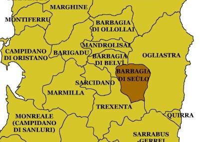 Sardegna Cartina Province.Comitato Pro Barbagia La Parola Alla Popolazione Ogliastra Vistanet