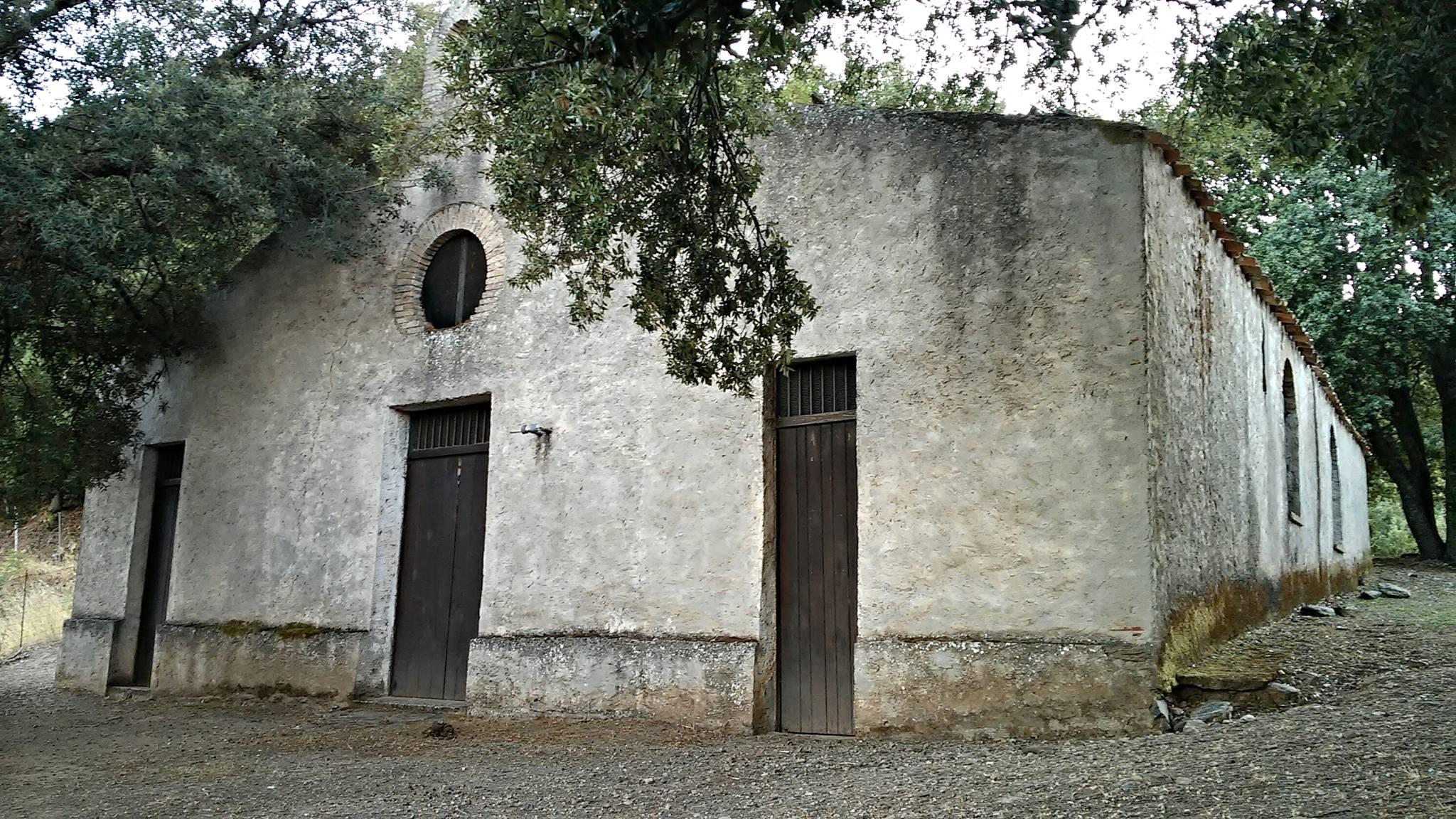 La chiesetta campestre di Santa Lucia, a Seui.