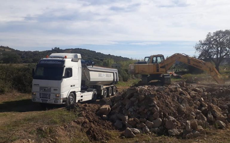 """SS 125 Lotto Bari Sardo-Tortolì: partiti i lavori. Il sindaco Mameli: """"Finalmente, aspettavamo da tanto tempo"""""""