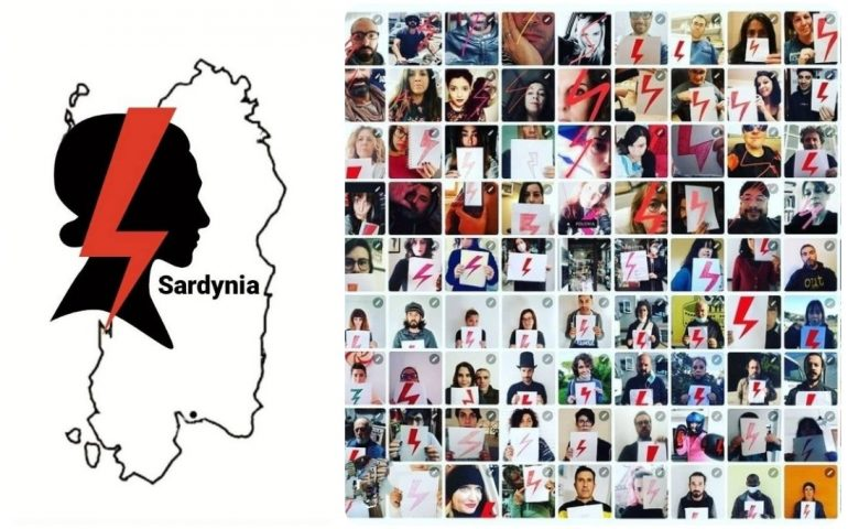 Strajk Kobiet Sardynia insieme alle donne polacche per salvare la legge sull'aborto
