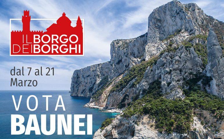 """""""Il Borgo dei Borghi"""", Baunei unico paese sardo in gara: si potrà votare fino a domani"""