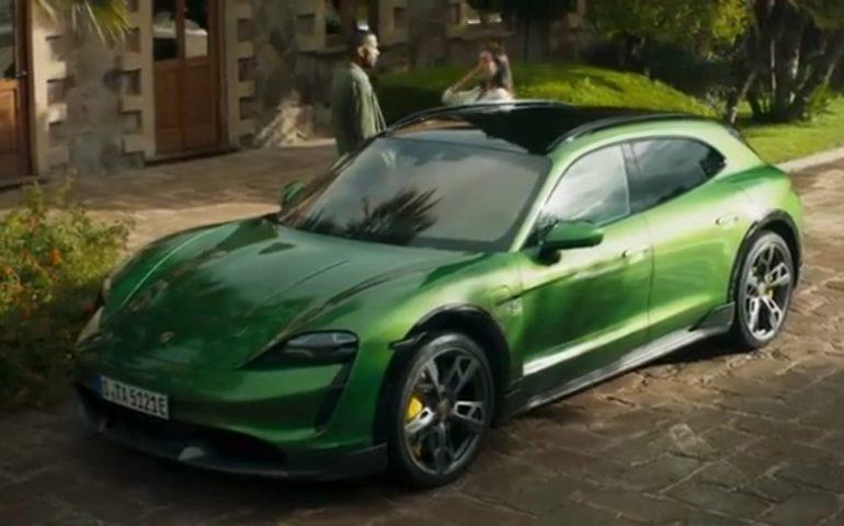 (Video) L'Ogliastra scelta come set per lo spot della Porsche Taycan Cross Turismo