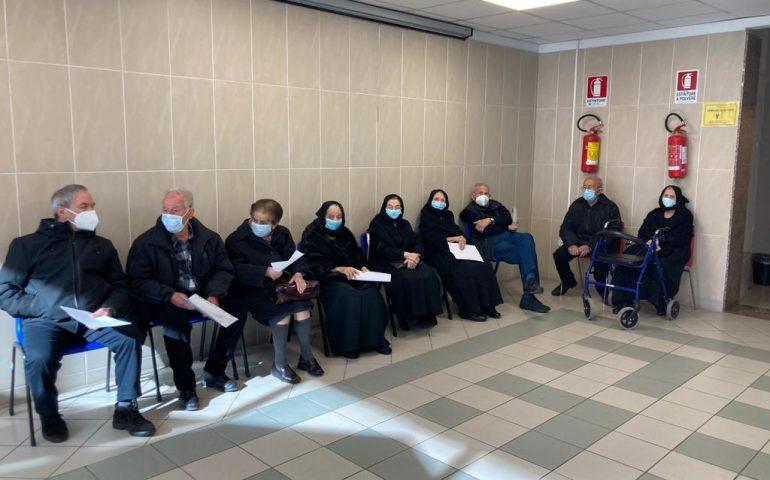 """Ilbono, grande partecipazione degli over80 alla vaccinazione anti Covid. Murru: """"Grazie a tutti"""""""