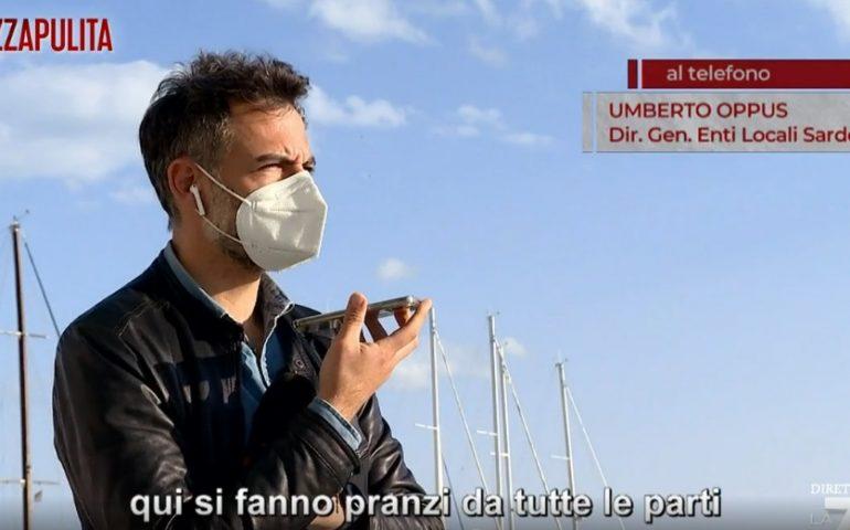 """(VIDEO) La Sardegna in zona rossa e il """"banchetto"""" di Sardara a Piazza Pulita su La7"""