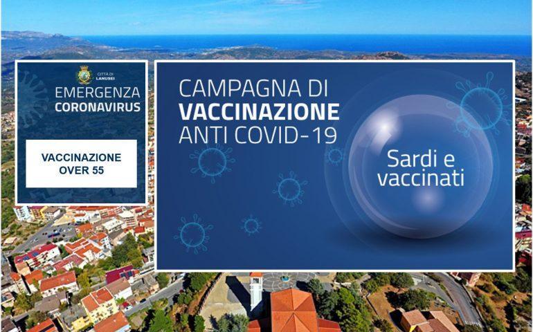 Lanusei, domani si vaccinano gli over 55 al Palaxius: come comportarsi