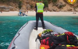 Baunei, due turisti soccorsi a Cala Biriola