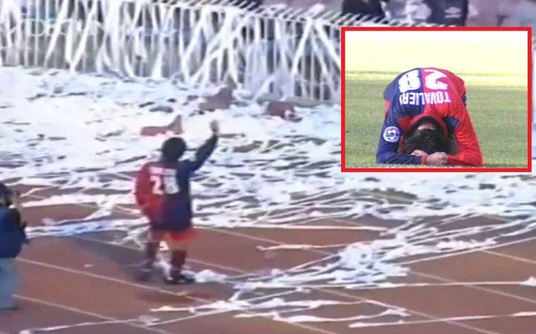 Accadde oggi: 15 giugno 1997, a Napoli il Cagliari perde lo spareggio per la A contro il Piacenza