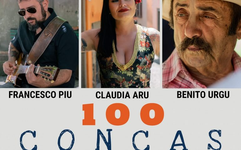 """Centu concas"", il nuovo singolo di Claudia Aru. Benito Urgu e Francesco Piu, ospiti d'eccezione"