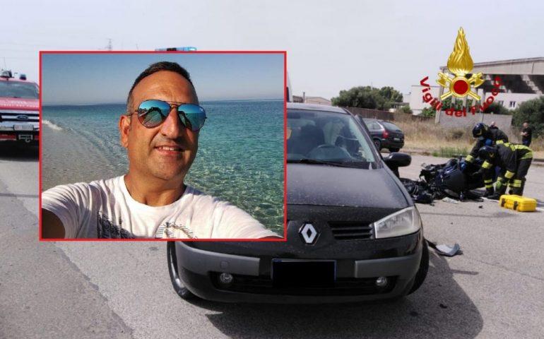 Sardegna, tragico scontro tra auto e scooter: nel terribile incidente muore un 47enne