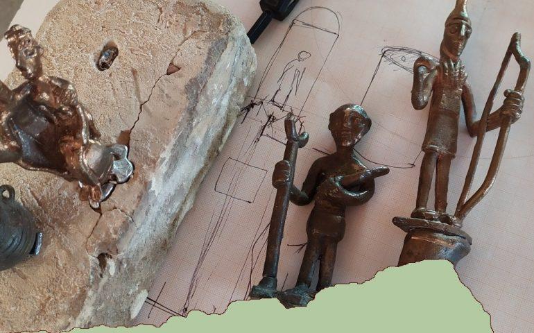 Arte nuragica, oggi a Urzulei l'installazione di tre statuine votive