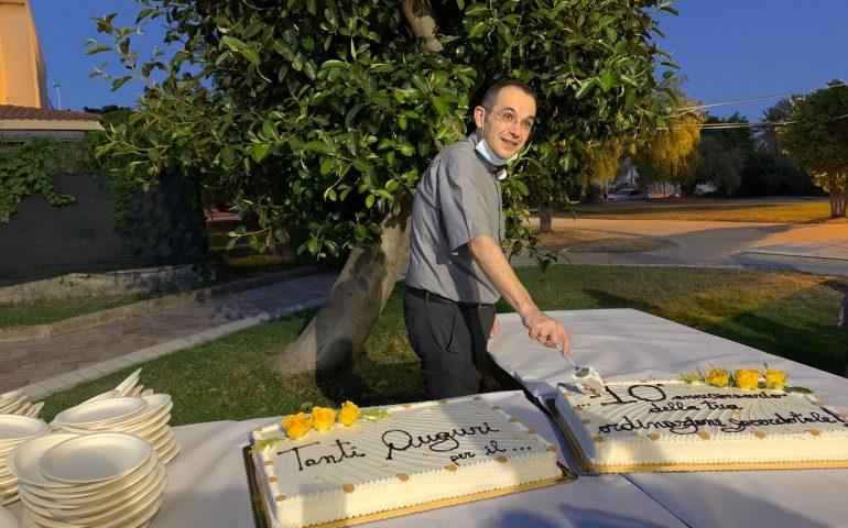 Tortolì, Monte Attu in festa per i 10 anni di sacerdozio di Don Mariano Solinas