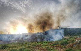 L'Ogliastra brucia. Grosso incendio alle porte di Arzana: mezzi e uomini in azione