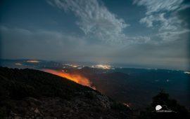 """Sardegna in fiamme, Solinas: """"Lottiamo con ogni mezzo per combattere i criminali del fuoco"""""""
