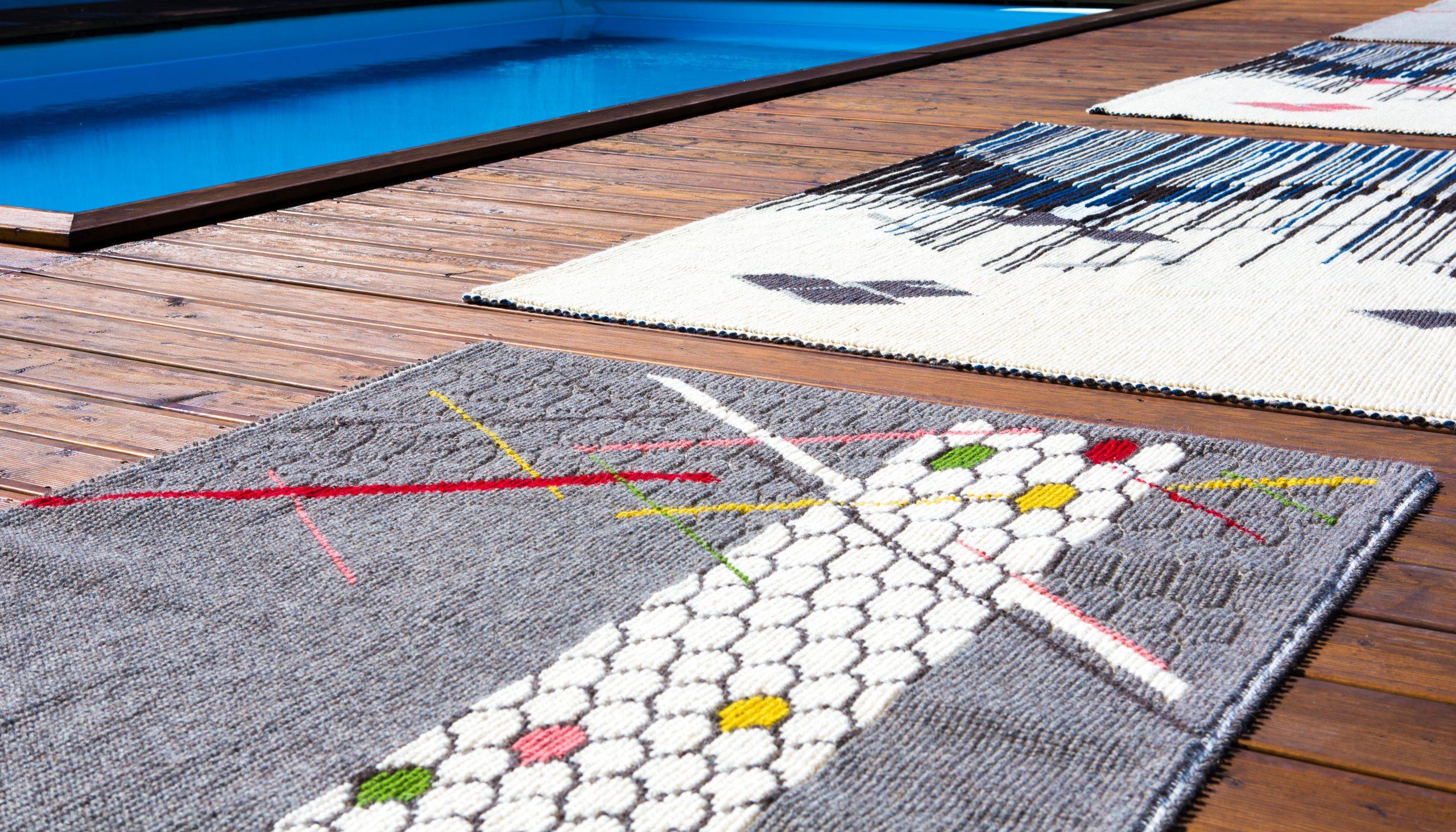 I tappeti Joias disegnati da Paulina Herrera Letelier