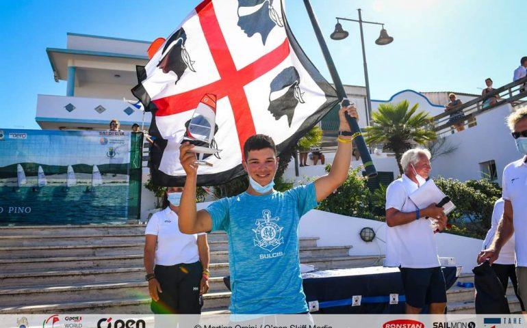 Campionati mondiali O'pen skiff: medaglia d'argento per il giovane tortoliese Leonardo Nonnis