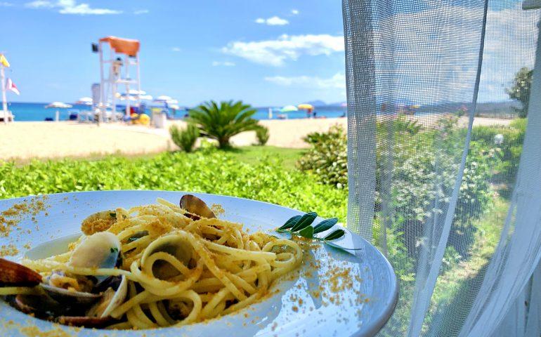 Ristorante Basaùra: i piatti di mare della tradizione ogliastrina li assapori sulla spiaggia