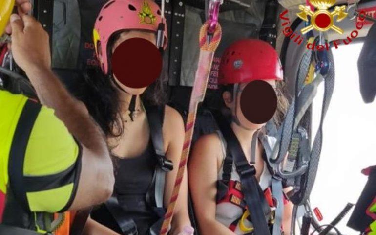 Si perdono sul sentiero per Goloritzè: due ragazze tratte in salvo dai Vigili del Fuoco