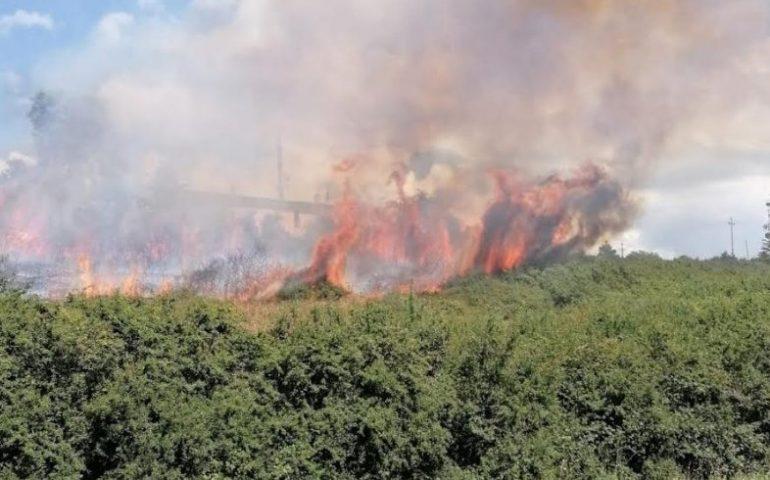 La Sardegna anche oggi in fiamme da nord a sud: 19 gli incendi domati