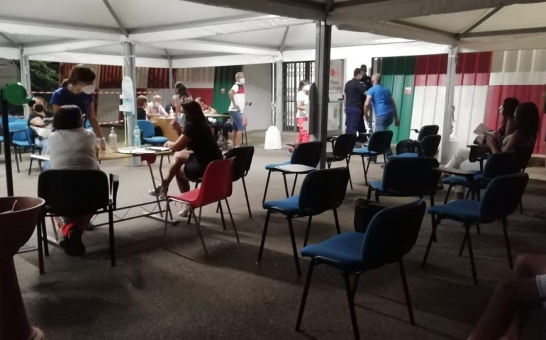 Ogliastra Open Night vaccinale: grande partecipazione con oltre 350 dosi di vaccino inoculate