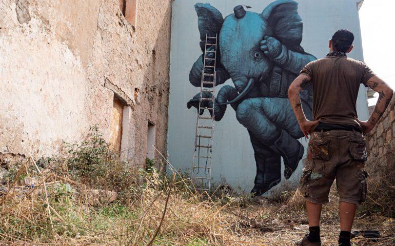 Museo a cielo aperto a Bari Sardo: le vie del paese dialogano con la comunità