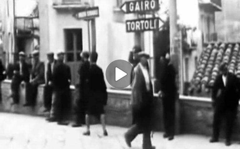(VIDEO) Una normale giornata a Lanusei nel 1963 raccontata da Giuseppe Dessì