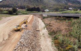 Tortolì, maxi cantiere sul Rio Foddeddu: quasi completati i lavori
