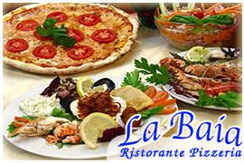 la baia pizzeria ristorante porto frailis tortolì cucina di terra mare tipica