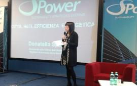 L'assessore Donatella Spano