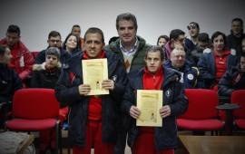 Loceri, il Comune premia gli atleti Special Olympics Stefano Magari e Carmine Ligas