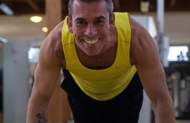 Il personal trainer Luca Frau