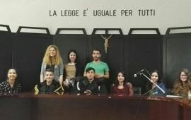 Gli studenti in Tribunale