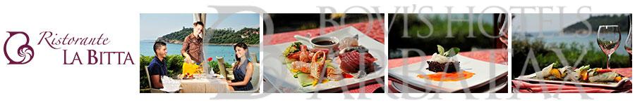 hotel la bitta arbatax porto frailis ristorante