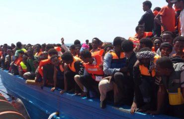 Sbarco di migranti