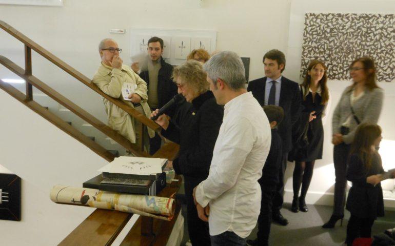 Le opere dell'artista lanuseino Valerio Pisano in mostra a Cagliari
