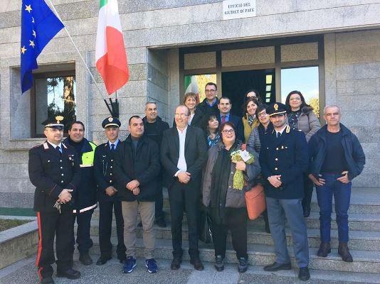 Nuovo Ufficio Giudice Di Pace : E anna rita casu il nuovo giudice di pace dellufficio di tortolì