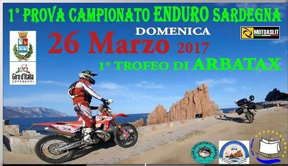 Oggi la prima prova di campionato Enduro Sardegna ad Arbatax
