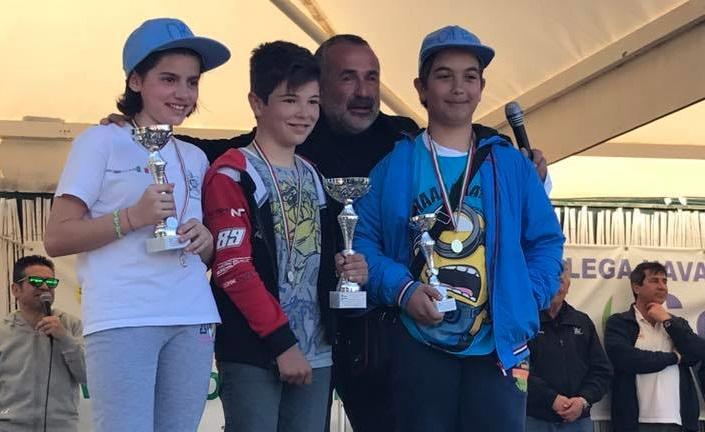 Circuito nazionale Open Bic a Villasimius. Il 12enne tortoliese Leonardo Nonnis sbaraglia tutti