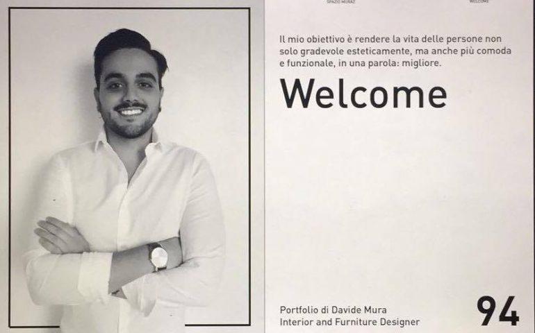 Giovani talenti ogliastrini: Davide Mura e la sua Starlight al Salone internazionale del mobile