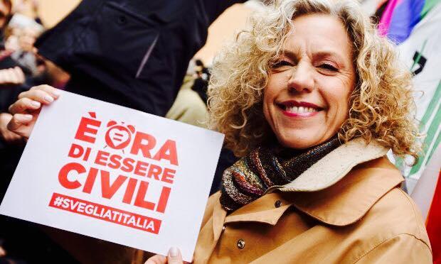 La senatrice Monica Cirinnà giovedì in Ogliastra a sostegno della mozione Orlando